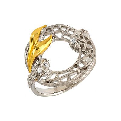 Серебряное кольцо  106234