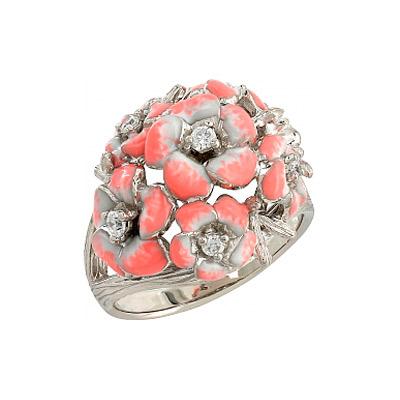 Серебряное кольцо  106236