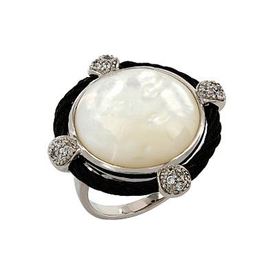 Серебряное кольцо  106279