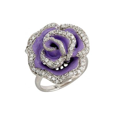 Серебряное кольцо  106291