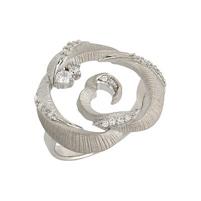 Серебряное кольцо  106293