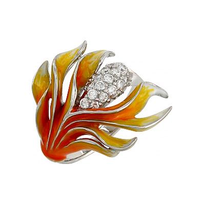 Серебряное кольцо  106295