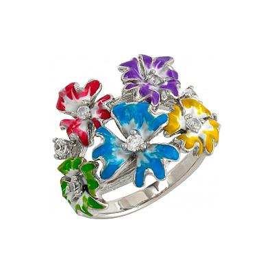 Серебряное кольцо  106298