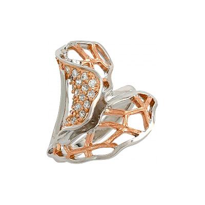 Серебряное кольцо  106299