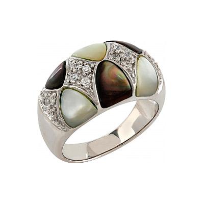 Серебряное кольцо  106732