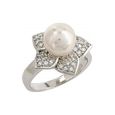 Серебряное кольцо  106733