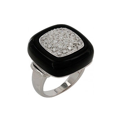 Серебряное кольцо  106743