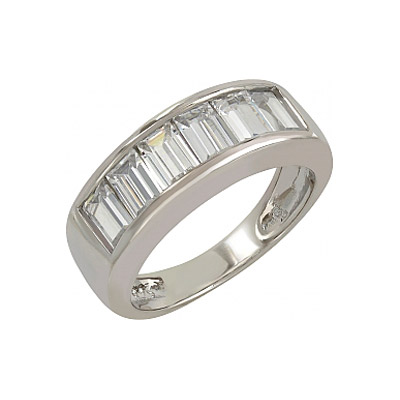 Серебряное кольцо  107269