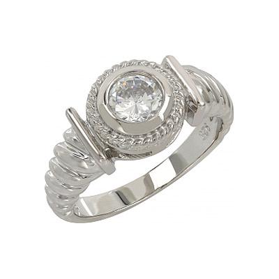 Серебряное кольцо  107271