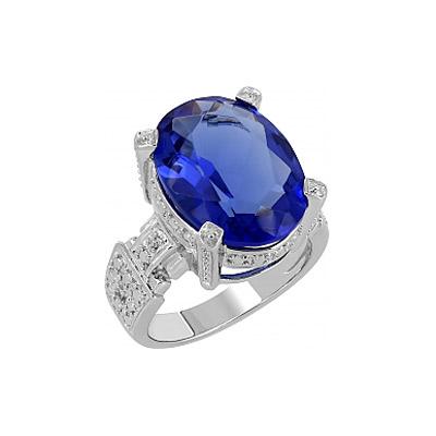 Серебряное кольцо  107291