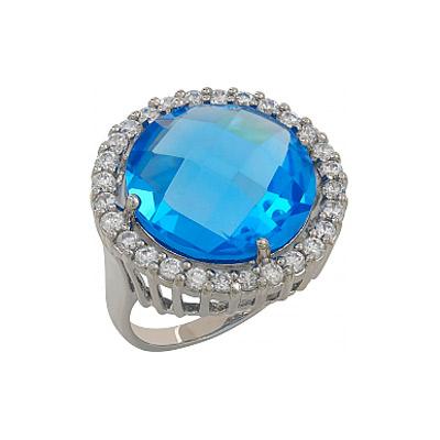 Серебряное кольцо  107294