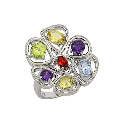 Серебряное кольцо  107319