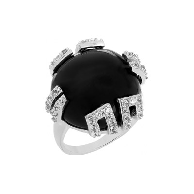 Серебряное кольцо  108367
