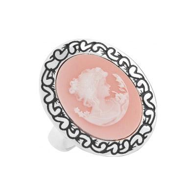 Серебряное кольцо  108435