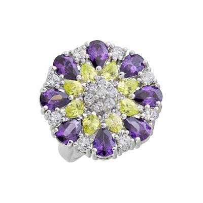 Серебряное кольцо  108583