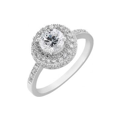 Серебряное кольцо  112730