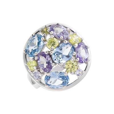 Серебряное кольцо 112764