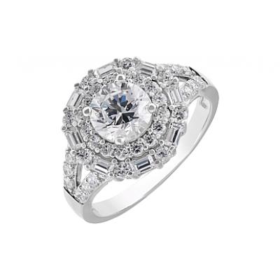 Серебряное кольцо  112777