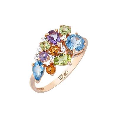 Золотое кольцо 113128