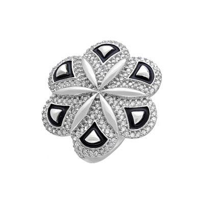 Серебряное кольцо  115282