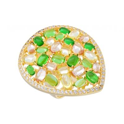 Серебряное кольцо  115634