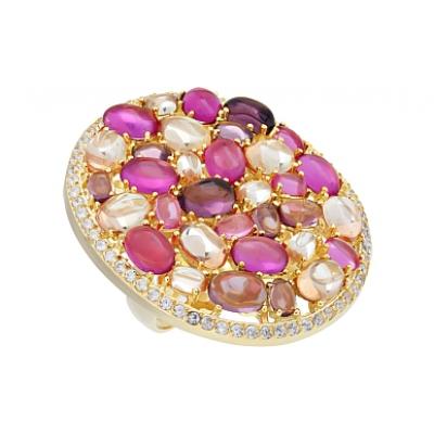 Серебряное кольцо  Ювелирное изделие 115636