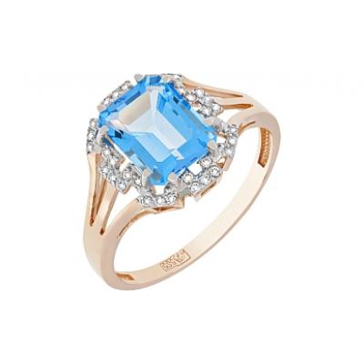 Золотое кольцо  Ювелирное изделие 117601