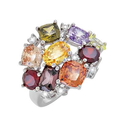 Серебряное кольцо  Ювелирное изделие 119082