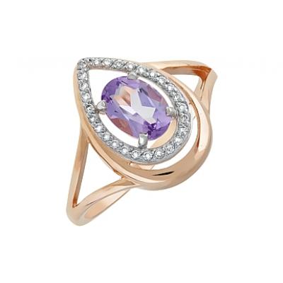 Золотое кольцо  Ювелирное изделие 119307