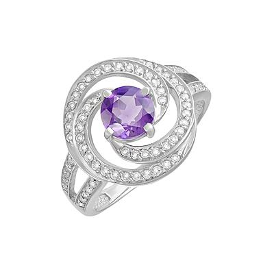 Серебряное кольцо  123208