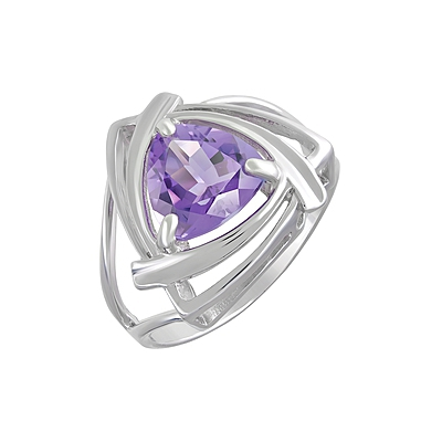 Серебряное кольцо  123261