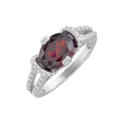 Серебряное кольцо  123295