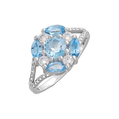 Серебряное кольцо  123300