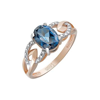 Золотое кольцо  Ювелирное изделие 124072