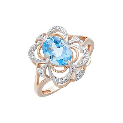 Золотое кольцо  Ювелирное изделие 124590