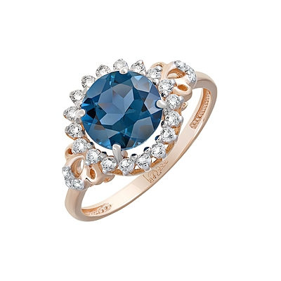Золотое кольцо  Ювелирное изделие 124597