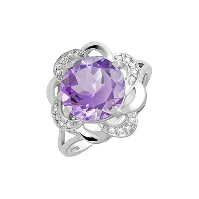 Серебряное кольцо  124647