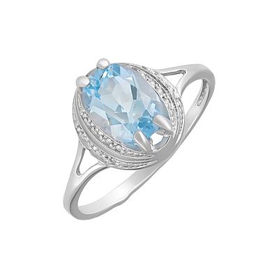 Серебряное кольцо  124649