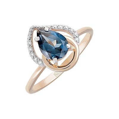 Золотое кольцо  Ювелирное изделие 124791