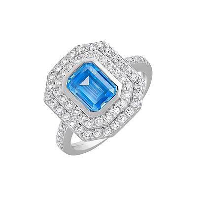 Серебряное кольцо  127683