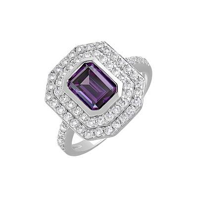 Серебряное кольцо  127684