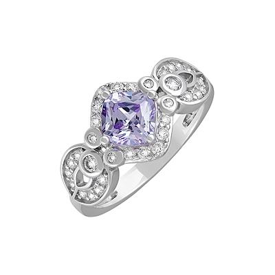 Серебряное кольцо  127690