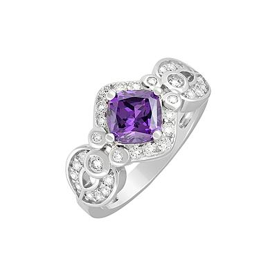 Серебряное кольцо  127698