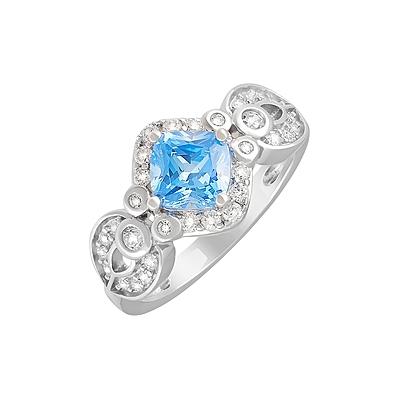 Серебряное кольцо  Ювелирное изделие 127699
