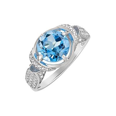 Серебряное кольцо  128009