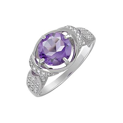 Серебряное кольцо  128017