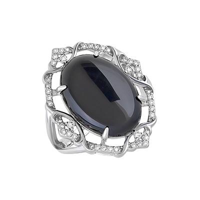 Серебряное кольцо  128059