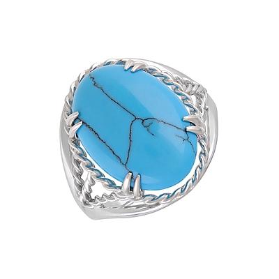 Серебряное кольцо  128066