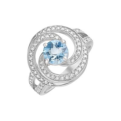 Серебряное кольцо  129750