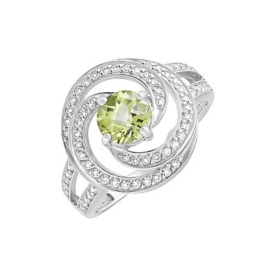 Серебряное кольцо  129766
